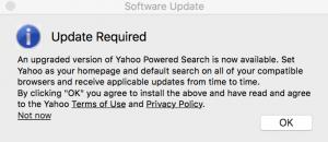 Yahoo Powered search