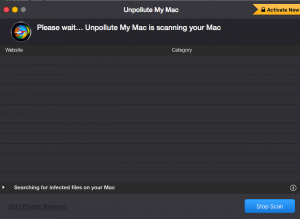 Unpollute My Mac