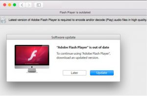 Fake Flash Updage