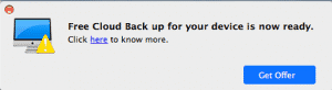 Free Cloud Backup virus
