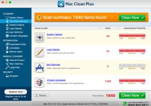 Mac Clean Plus PUP